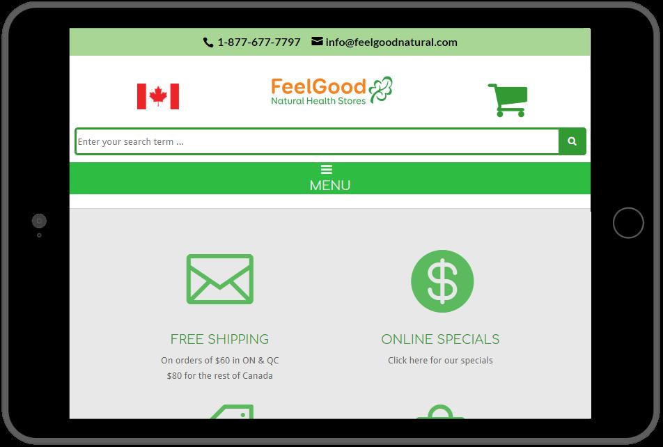 FealGood Natural Health Logo