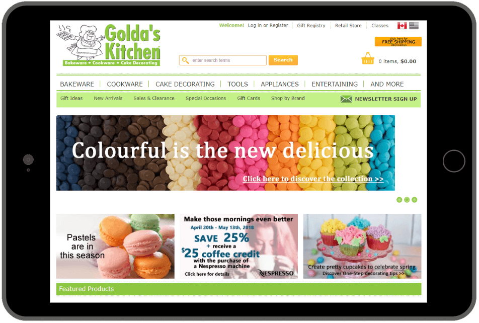 Golda's Kitchen Logo